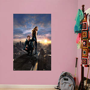 Divergent Movie Poster Mural Fathead Wall Decal